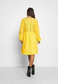 Glamorous Petite - BRODERIE DRESS - Day dress - yellow - 3