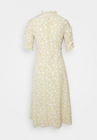 Glamorous Petite - DITSY MIDI WRAP DRESS PETITE - Day dress - beige - 1