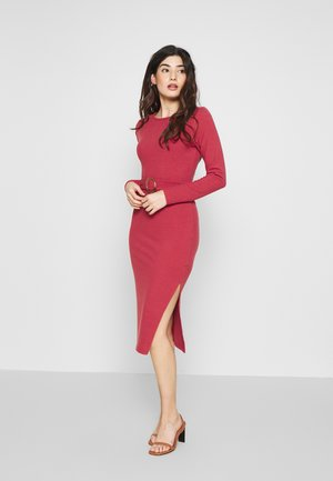 BELTED MIDI - Jumper dress - pink