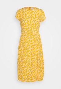 Glamorous Petite - SUSTAINABLE MIDI TEA DRESS - Day dress - yellow - 0