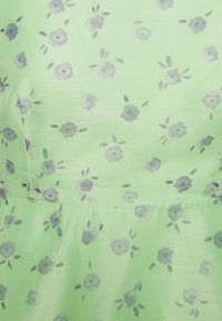 Glamorous Petite - PUFF SLEEVE SKATER DRESS - Day dress - green/watercolour - 2
