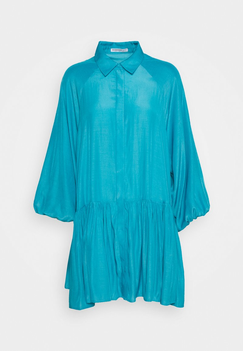 Glamorous Petite - SMOCK DRESS - Vestido camisero - blue