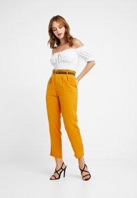 Glamorous Petite - GYPSY BARDOT - T-Shirt print - white - 1
