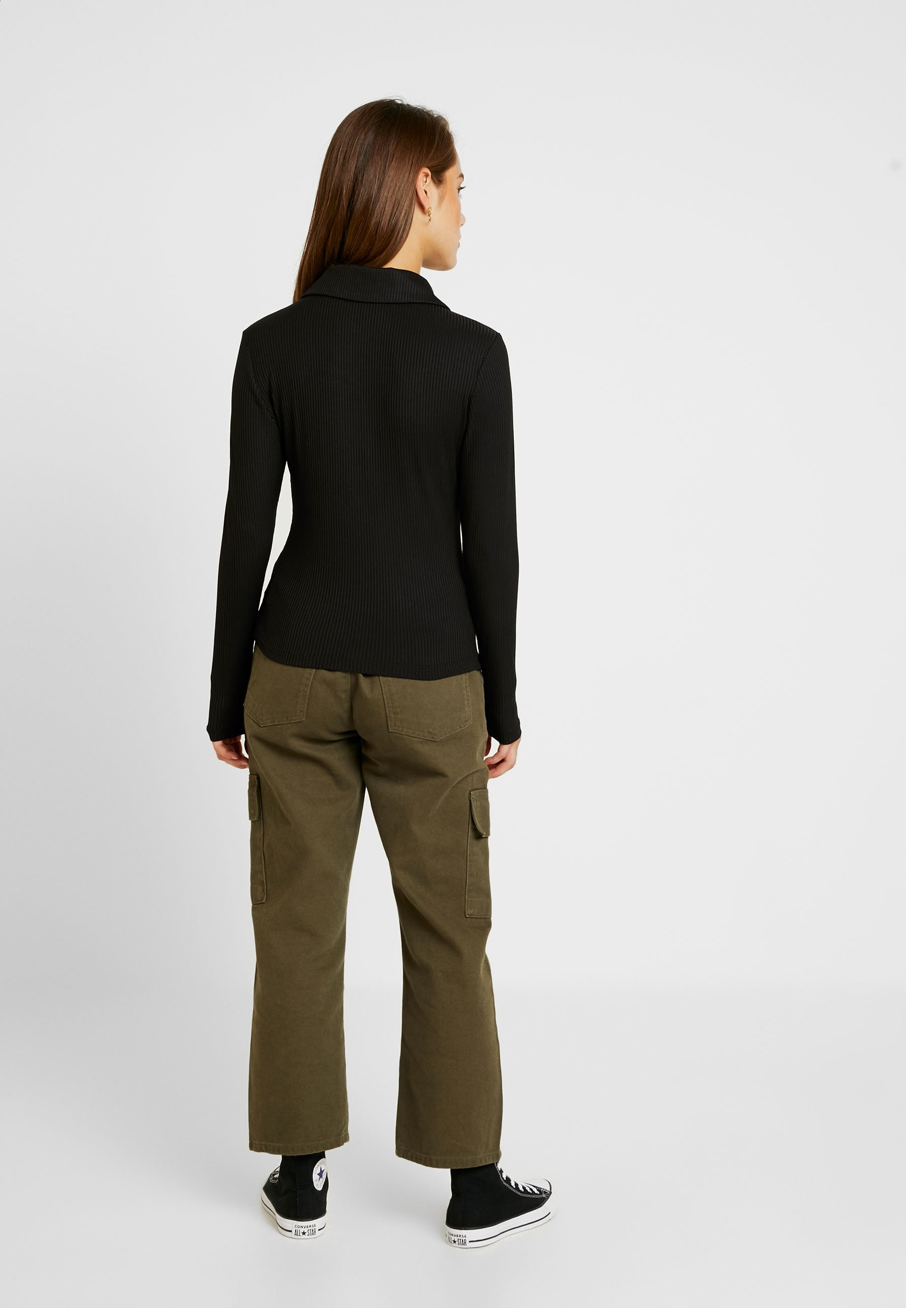 Glamorous shirt Petite LonguesBlack À Manches T 5ARL3j4