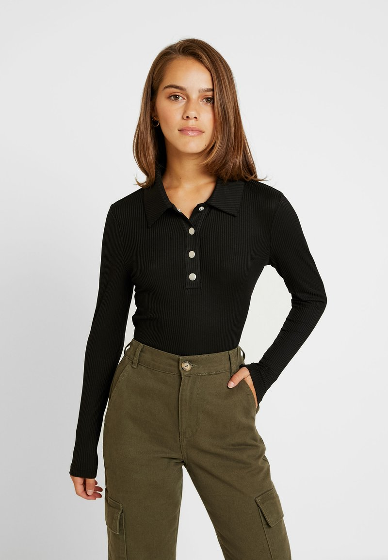 Glamorous Petite - Camiseta de manga larga - black