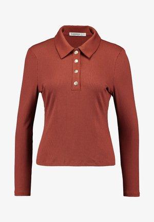 T-shirt à manches longues - dark rust