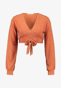 Glamorous Petite - DEEP - Bluzka z długim rękawem - rust - 3