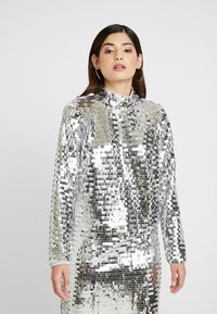 Glamorous Petite - Bluser - silver - 0
