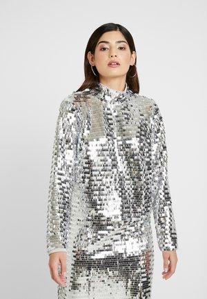 Blouse - silver