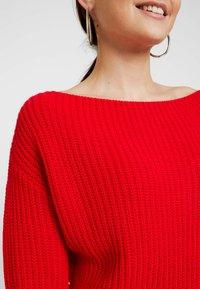 Glamorous Petite - Strickpullover - red - 5