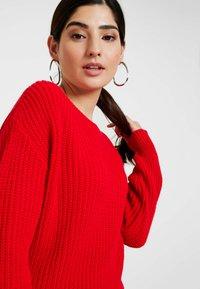 Glamorous Petite - Strickpullover - red - 3