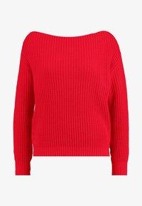 Glamorous Petite - Strickpullover - red - 4