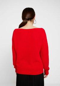 Glamorous Petite - Strickpullover - red - 2