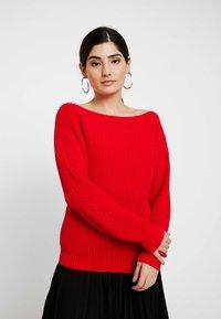 Glamorous Petite - Strickpullover - red - 0