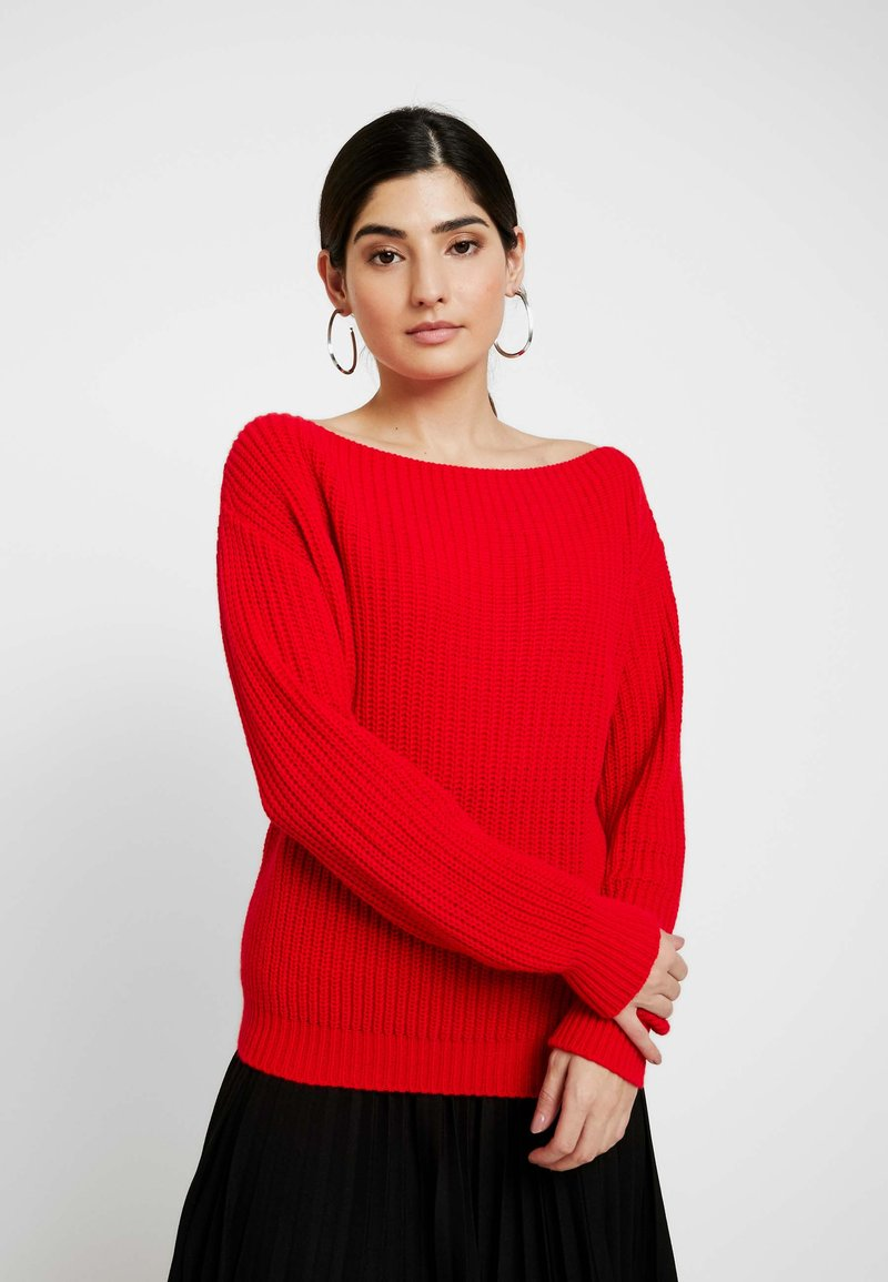 Glamorous Petite - Strickpullover - red