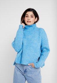 Glamorous Petite - Strickpullover - blue marl - 0