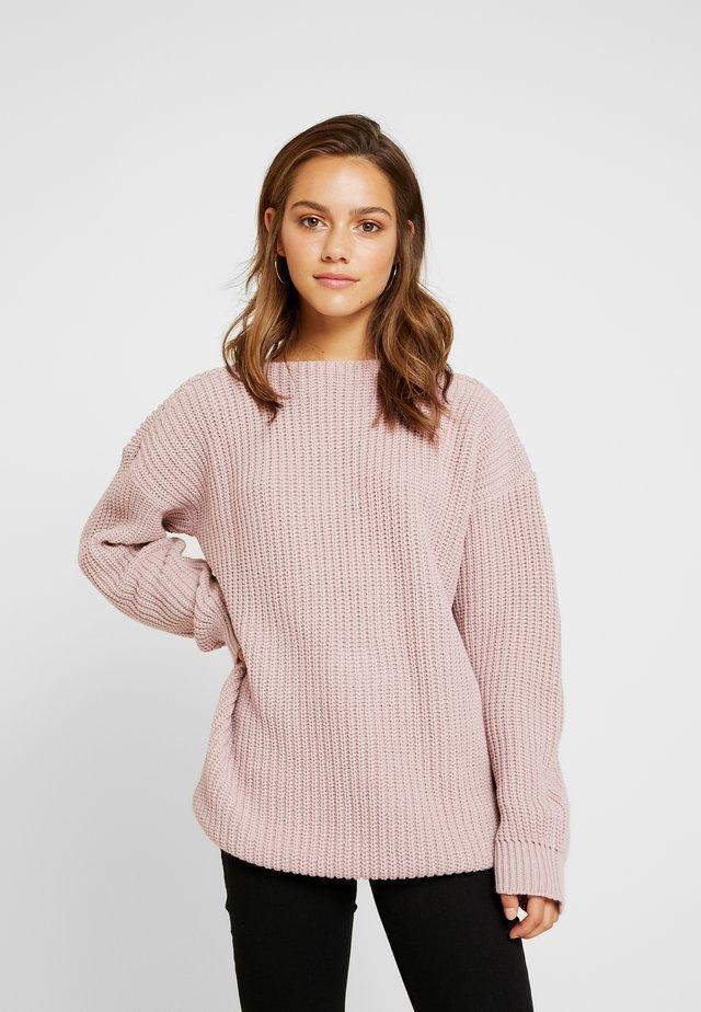 Trui - dusky pink