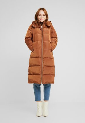 Winter coat - nut brown