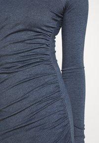 Glamorous Tall - WRAPOVER DRESS - Vestido ligero - melange navy - 4