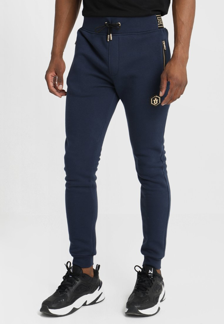Glorious Gangsta - SCART PANT - Jogginghose - navy