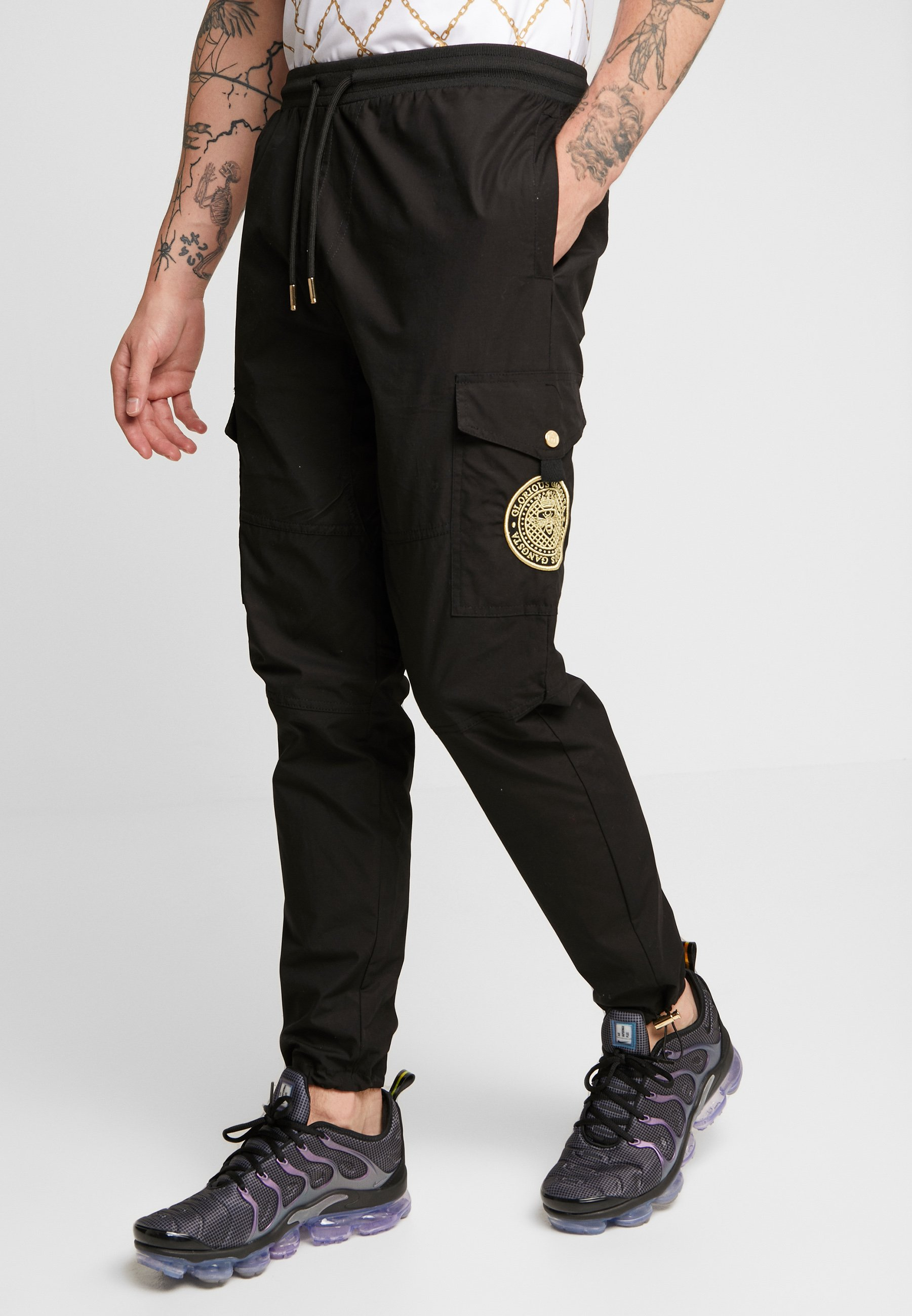 FresnoPantalon Cargo Glorious Black Gangsta Gangsta Glorious 0O8nkwP
