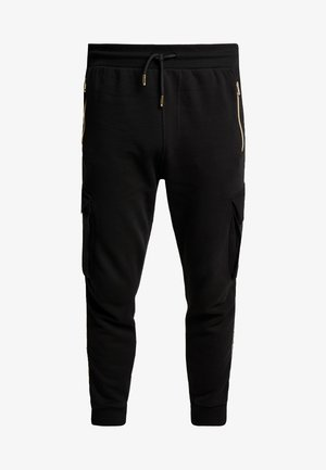 ALPHA JOGGER - Jogginghose - black