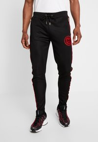 Glorious Gangsta - CORTZEE JOGGERS - Tracksuit bottoms - black - 0