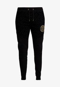 Glorious Gangsta - YAKUZA JOGGERS - Pantaloni sportivi - black - 4