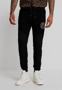Glorious Gangsta - YAKUZA JOGGERS - Pantaloni sportivi - black - 0