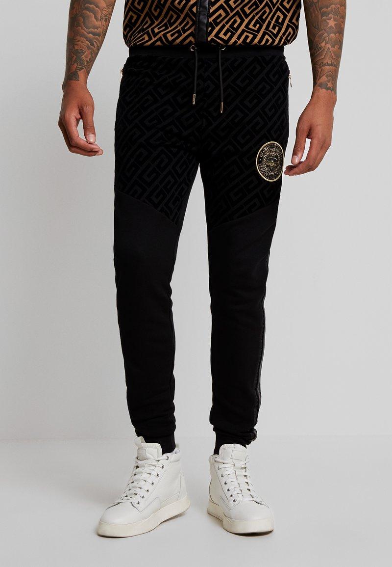 Glorious Gangsta - YAKUZA JOGGERS - Pantaloni sportivi - black