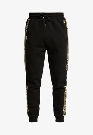 KALK TAPE - Teplákové kalhoty - black