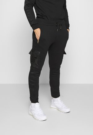 GLORIOUS GANGSTA GALANTE CARGO JOGGERS - Tracksuit bottoms - black