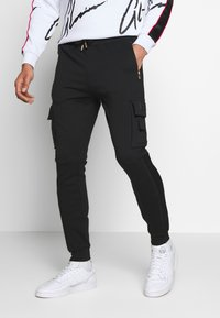 Glorious Gangsta - MORELLO CARGO JOGGERS - Trainingsbroek - black - 0