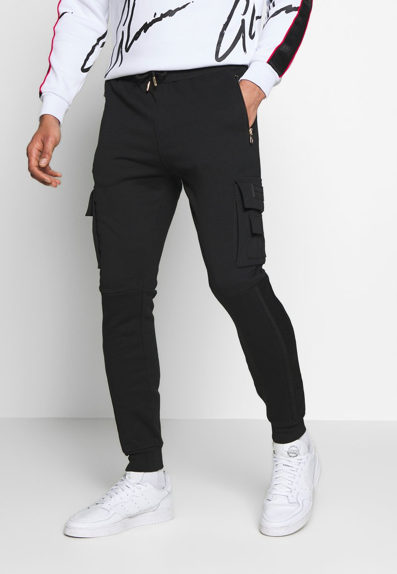 Glorious Gangsta - MORELLO CARGO JOGGERS - Trainingsbroek - black