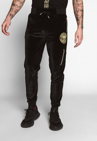 Glorious Gangsta - KONGO JOGGERS - Trainingsbroek - black - 0