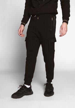 ALMA UTILITY - Pantalon de survêtement - black