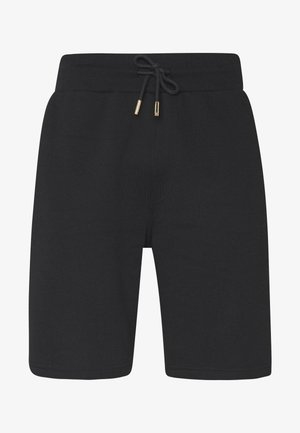 KALK - Tracksuit bottoms - black