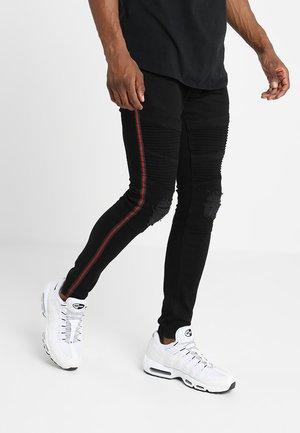NOVIA - Jeans Skinny - black