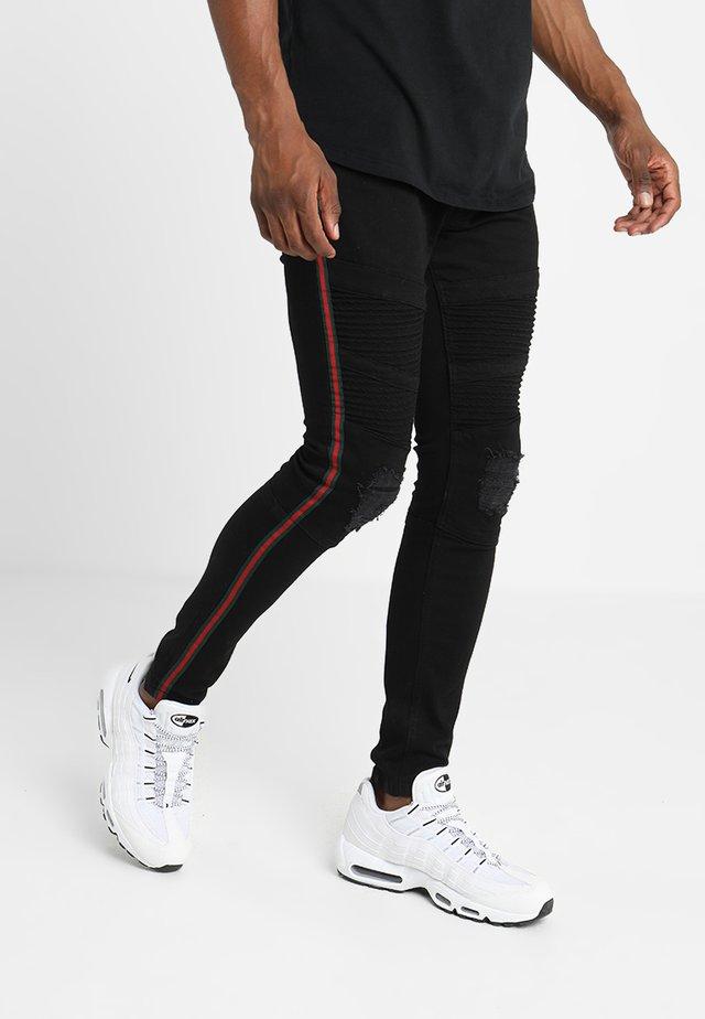 NOVIA - Jeans Skinny Fit - black