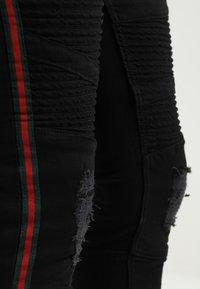 Glorious Gangsta - NOVIA - Jeans Skinny Fit - black - 4