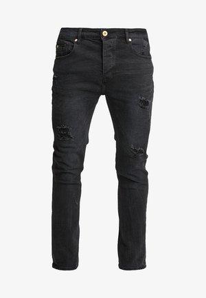 GADIVE - Jeansy Skinny Fit - black