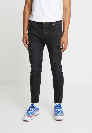 GADIVE - Skinny džíny - black