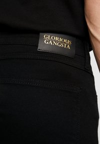 Glorious Gangsta - ROGAN UTILITY - Skinny džíny - black - 4