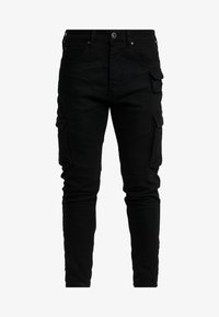 Glorious Gangsta - ROGAN UTILITY - Skinny džíny - black - 3