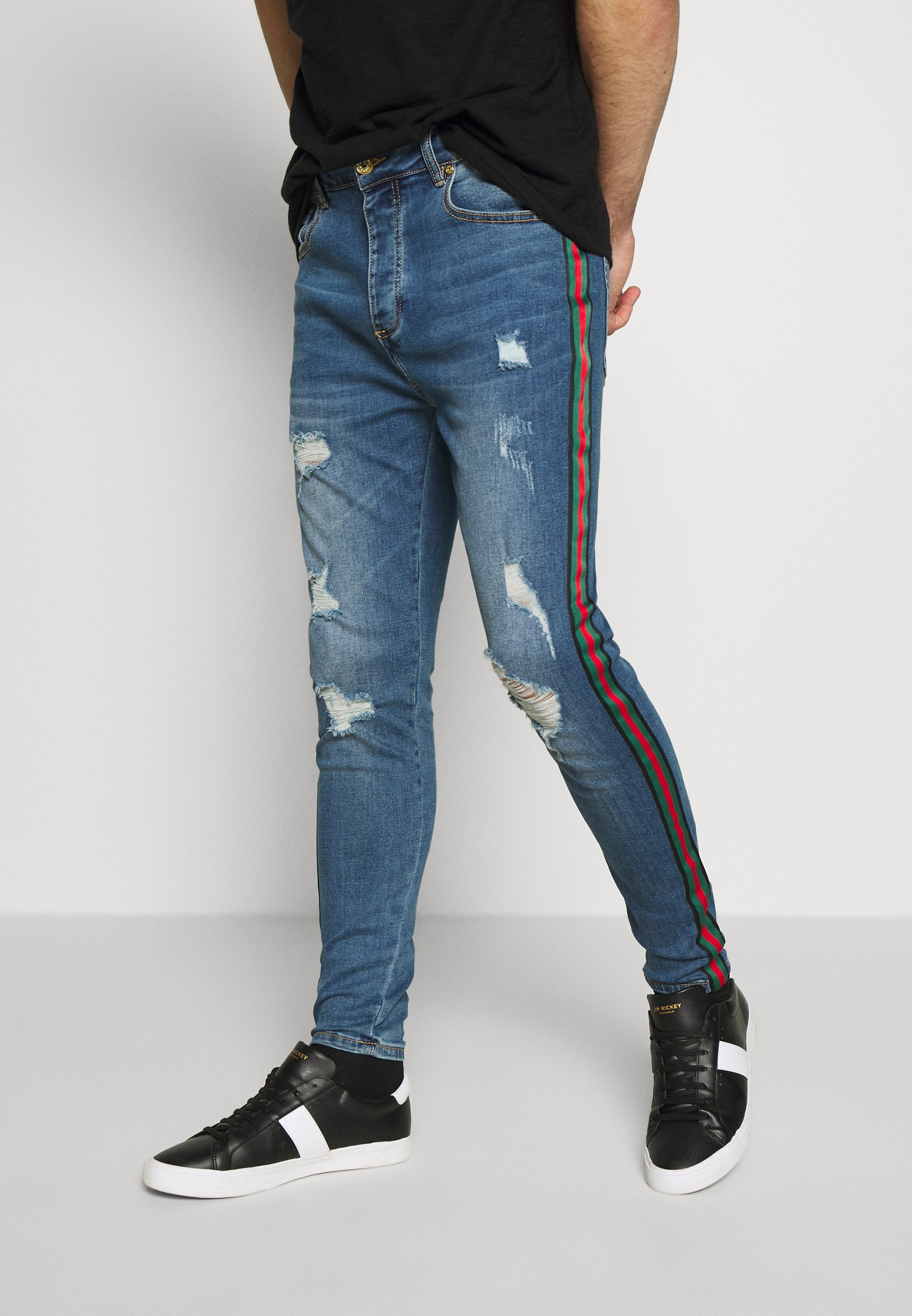 Glorious Gangsta Jeansy Skinny Fit - blue