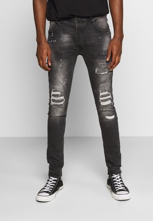 VITO DENIM - Jeansy Skinny Fit - black