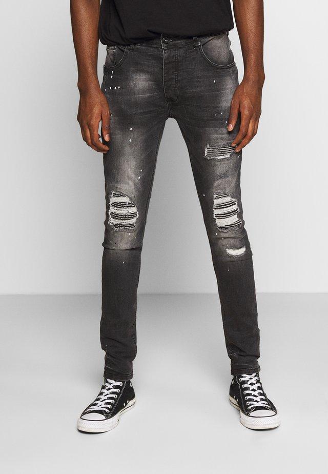 VITO DENIM - Jeansy Skinny Fit - black