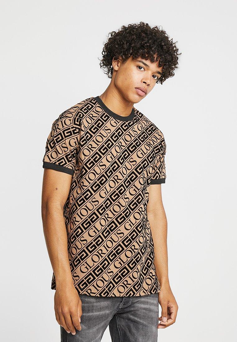 Glorious Gangsta - BANTU - Print T-shirt - tan