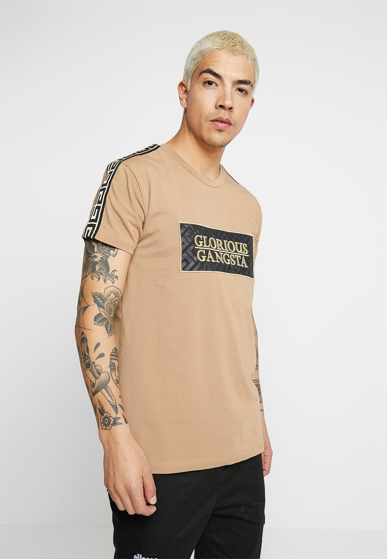 Glorious Gangsta - CHANGA - T-Shirt print - stone