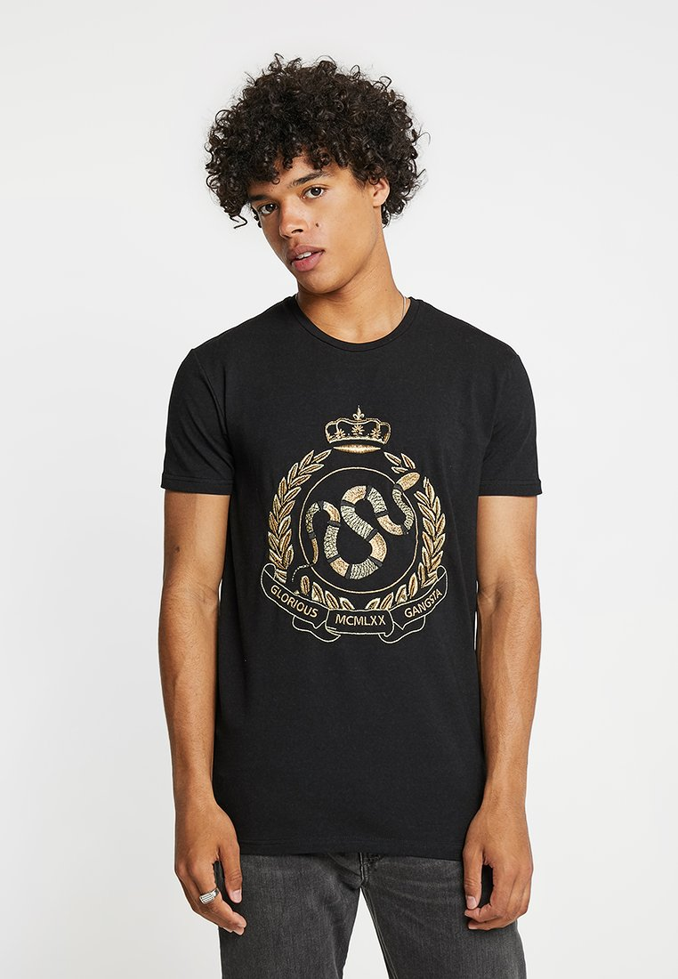 Glorious Gangsta - MIKLO - T-shirt con stampa - black